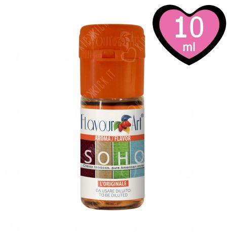 Soho Aroma FlavourArt Liquido Concentrato al Tabacco