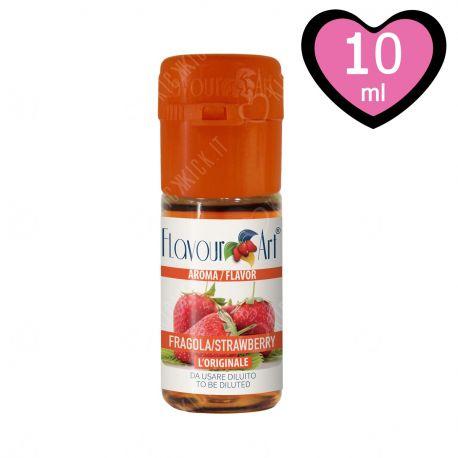 Red Touch Aroma FlavourArt Liquido Concentrato alla Fragola da Diluire per Sigarette Elettroniche