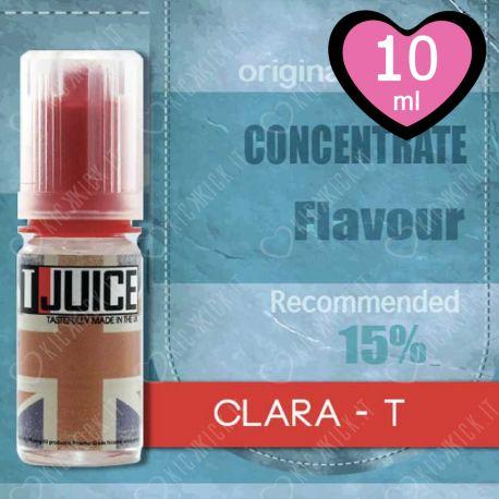 Clara-T T-Juice Aroma Liquido Concentrato