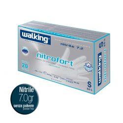 Guanti Riusabile in Nitrile Professionale - Walking Nitrofort 7.2