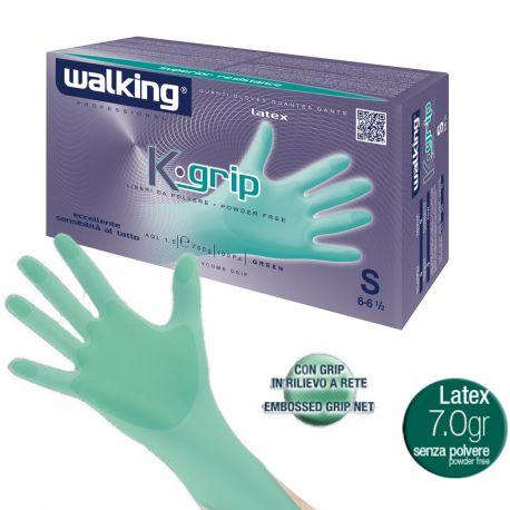 Guanti in Lattice Monouso Walking Kgrip Ideale per Dentisti