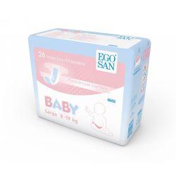 Pannolini per Bambini 8-19 kg Egosan Maxi - confezione da 168 pz.