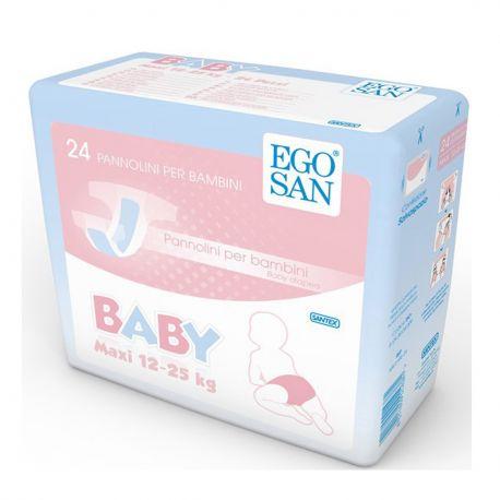 Pannolini per Bambini 12-25 kg Egosan Junior - confezione da 144 pz.