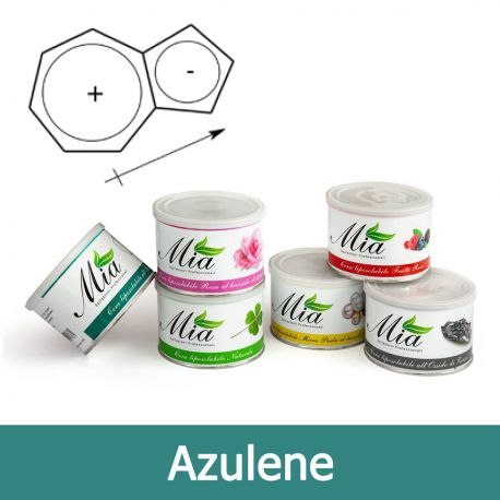 Cera Depilatoria Azulene Liposolubile in Barattolo 400 ml