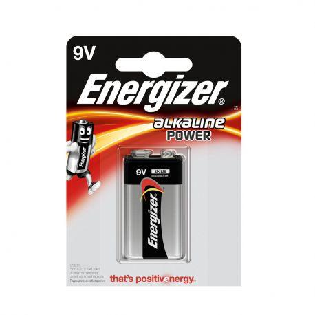Energizer 9V Alkaline Power Transistor - Blister da 1 Pila