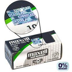 Pile 377 Maxell SR626SW - 10 Batterie a Bottone