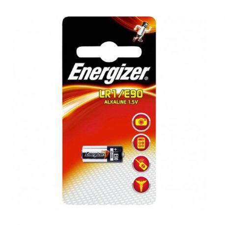 Energizer LR1 - E90 MN9100 Pila Alcalina MicroStilo 1,5V - Blister 1 Batteria