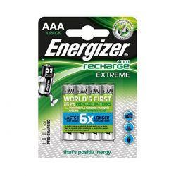 Energizer Ministilo AAA 800 mAh - Blister da 4 Batterie Ricaricabili