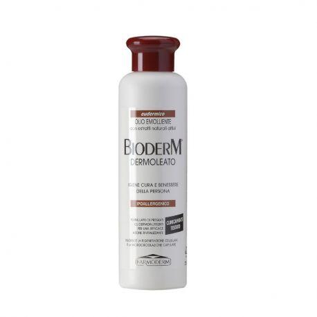 Bioderm Dermoleato Olio Emolliente Dermoprotettivo- Flacone da 250 ml