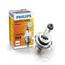 Lampadina per fari Philips Vision H4 12V 60/55W