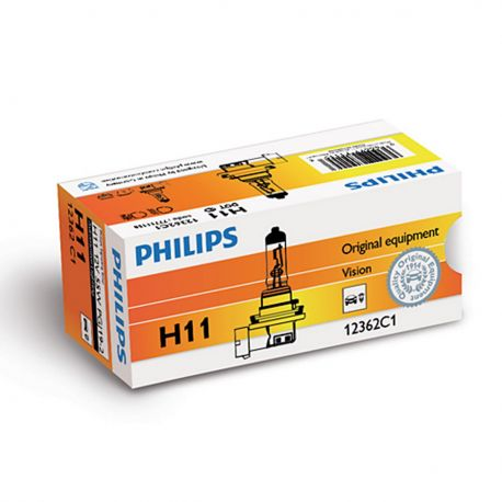 Lampada per fari Philips Vision H11 12V 55W