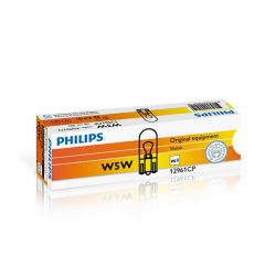 2 Lampadine per fari Philips Vision W5W 12V 5W