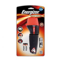 Torcia Energizer a Led In Gomma Piccola - Impact Rubber 2xAAA