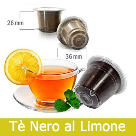 10 Tè Nero al Limone Compatibili Nespresso