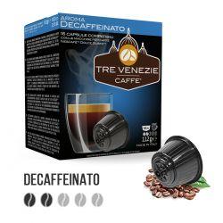 80 Capsule Caffè Decaffeinato Tre Venezie - Compatibili Nescafè Dolce Gusto