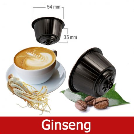 16 Caffè Ginseng Nescafè Dolce Gusto Capsule Compatibili