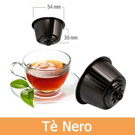 10 Tè in Foglia Nero Compatibili Nescafè Dolce Gusto - Tre Venezie Cialde