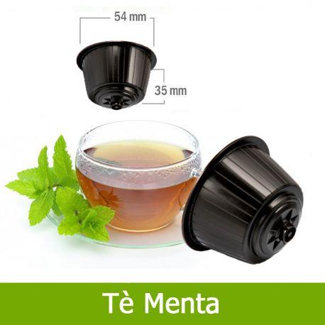 10 Tè in Foglia alla Menta Compatibili Nescafè Dolce Gusto - Tre Venezie Cialde