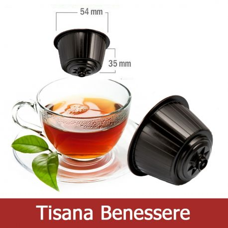 10 Tisana Benessere Compatibili Nescafè Dolce Gusto - Tre Venezie Cialde