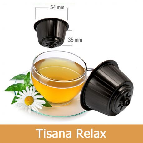 10 Tisana Relax Compatibili Nescafè Dolce Gusto - Tre Venezie Cialde