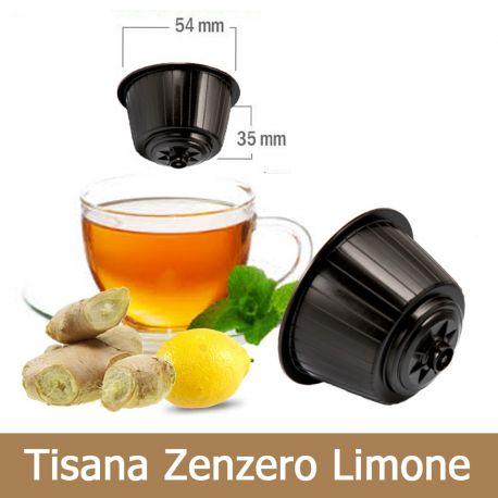 10 Tisana Zenzero e Limone Compatibili Nescafè Dolce Gusto - Tre Venezie Cialde
