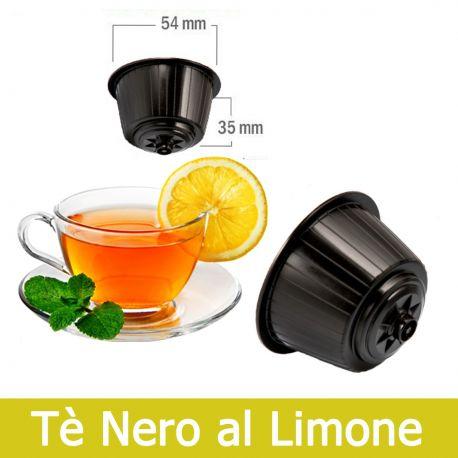 10 Tè Nero Limone Nescafè Dolce Gusto Capsule Compatibili