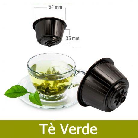 16 Tè Verde Nescafè Dolce Gusto Capsule Compatibili