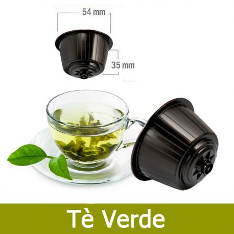 10 Capsule The Verde in Foglia Tre Venezie - Compatibili Nescafè Dolce Gusto
