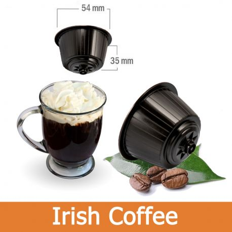 16 Irish Coffee Nescafè Dolce Gusto Capsule Compatibili