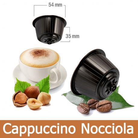 16 Capsule Cappuccino alla Nocciola Compatibili Nescafè Dolce Gusto