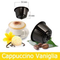 16 Cappuccino alla Vaniglia Nescafè Dolce Gusto Capsule Compatibili