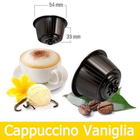 8 Capsule Cappuccino alla Vaniglia Compatibili Nescafè Dolce Gusto
