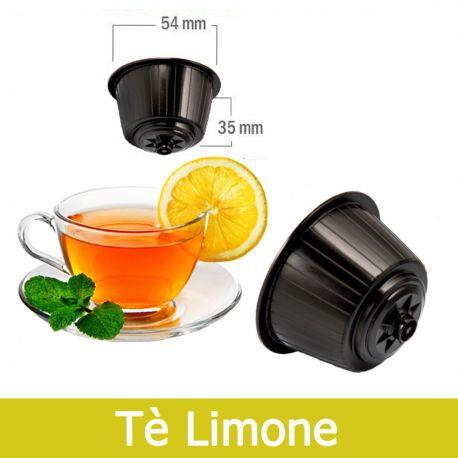 8 Capsule Tè Al Limone Solubile Compatibili Nescafè Dolce Gusto