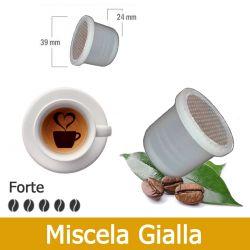 100 Capsule Caffè Aroma Leon D'Oro Tre Venezie - Compatibili Uno System