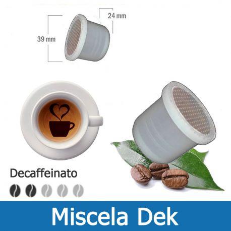 100 Capsule Caffè Decaffeinato Tre Venezie - Compatibili Uno System