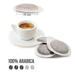 100 Cialde in Carta Ese 44 Arabica di San Marco Caffè Tre Venezie