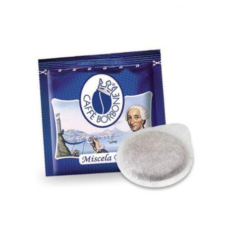 50 Cialde Filtrocarta 44 mm ESE Caffè Borbone Miscela Blu