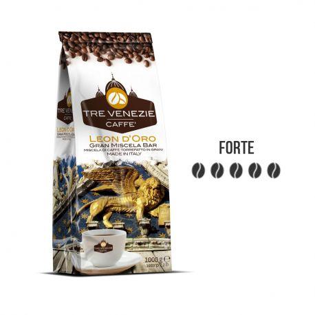 Caffè in Grani Leon D'Oro Tre Venezie 1 Kg