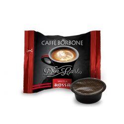 50 Capsule Don Carlo Caffè Borbone Miscela Rossa (compatibili Lavazza A Modo Mio)
