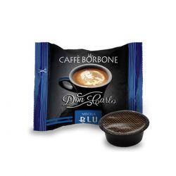 50 Capsule Don Carlo Caffè Borbone Miscela Blu (compatibili Lavazza A Modo Mio)