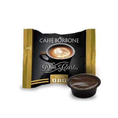 50 Capsule Don Carlo Caffè Borbone Miscela Oro (compatibili Lavazza A Modo Mio)