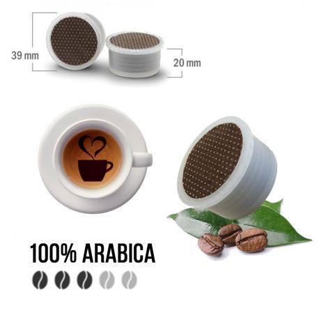 100 Capsule Caffè Arabica Tre Venezie - Compatibili Lavazza Espresso Point