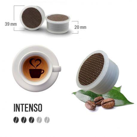 100 Capsule Caffè Nero Barocco Tre Venezie - Compatibili Lavazza Espresso Point