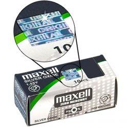 Pile 364 Maxell SR621SW - 10 Batterie a Bottone