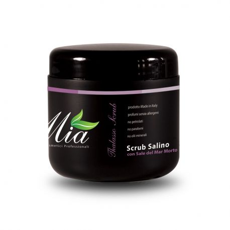 Scrub Salino con Sale del Mar Morto al Cotone 500 ml
