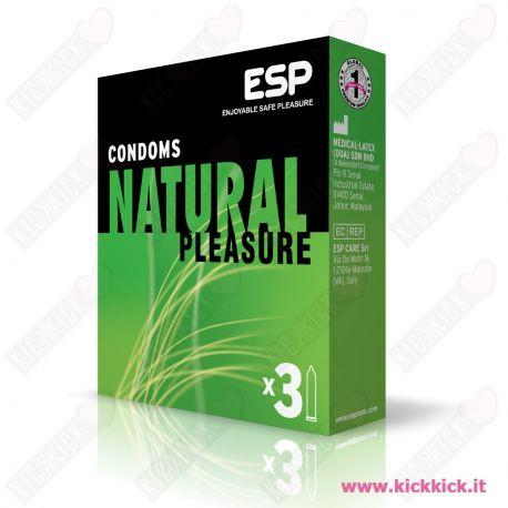 ESP Natural - Scatola da 3 Preservativi