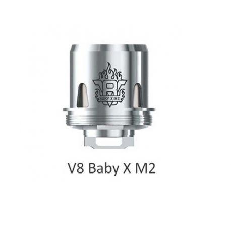V8 X-Baby M2 Resistenza Smok Head Coil per Atomizzatore TFV8 X-Baby - 3 Pezzi