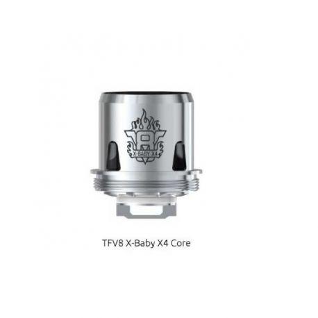 V8 X-Baby X4 Resistenza Smok Head Coil per Atomizzatore TFV8 X-Baby - 3 Pezzi