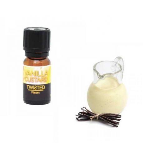 Vanilla Custard Aroma Twisted Vaping Aroma Concentrato da 10ml per Sigarette Elettroniche