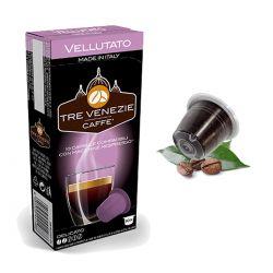 10 Capsule Vellutato Compatibili Nespresso - Caffè Tre Venezie